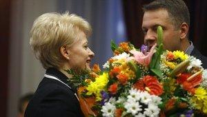 Грибаускайте одержала победу на выборах президента Литвы